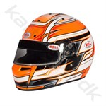 Bell KC7-CMR hjelm, Venom orange, str. 54 - 59