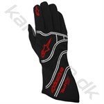 Alpinestars Tech 1-Z handske, sort/orange fluo, str. XL