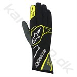 Alpinestars Tech 1-K handske, sort/anthracite/gul fluo, str. S-XXL