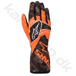 Alpinestars Tech-1 K Race v2 Camo handske, orange fluo/sort, Str. S-XXL