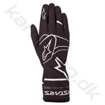 Alpinestars Tech-1 K Race v2 Solid handske, sort/hvid, Str. S-XXL