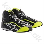 Alpinestars Tech-1 KS sko, sort/hvid/gul fluo, str. 30-32