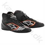 Alpinestars Tech-1 KX sko, sort/orange fluo, str. 34-47