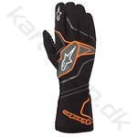 Alpinestars Tech-1 KX v2 handske, sort/orange fluo, Str. S-XXL