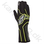 Alpinestars Tech-1 K v2 handske, sort/gul fluo/anthracite, str. S-XXL