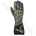 Alpinestars Tech-1 ZX v2 handske, anthracite/gul fluo/sort, Str. S - XXL