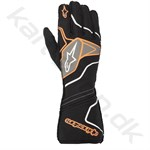 Alpinestars Tech-1 ZX v2 handske, sort/orange fluo, Str. S - XXL